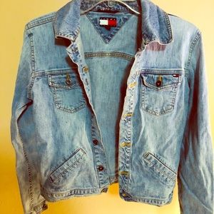 Vintage Tommy Hilfiger Denim Jean Jacket Medium